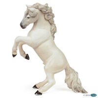 NEW PAPO 51521 White Reared Up Standing Horse