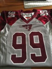 YOUTH LARGE Football Jersey OTTAWA GEE GEES  #99  CIS OUAA CANADA