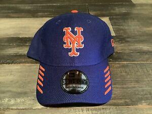 Men's New York Mets New Era 39Thirty Blue Tech Grade MLB Flex Fit Hat NWT M/L