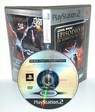 STAR WARS EPISODIO III LA VENDETTA DEI SITH Ps2 Playstation Play Station 2 Game