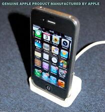 Autentico di Apple iPhone 3 G/3GS BIANCO Desktop Dock di Ricarica Sync Stazione Pod