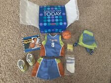 American Girl Today Complete Basketball Outfit In Original Box Excellent #Gdoe