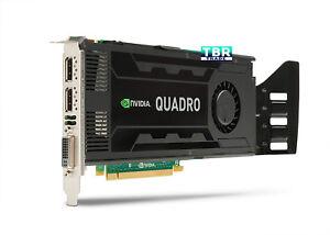 HP NVIDIA Quadro K4000 3GB GPU Video Graphics card GDDR5 713381-001 C2J94AA