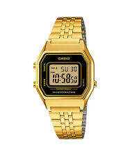 CASIO LA680WGA-1 Standard Digital Women's Retro Design Bracelet Gold