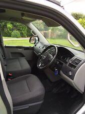 CMC vw t5 t6 Transporteur Caravelle Floor Mat double Seat/3 Seat Cab Model Grey