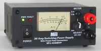 MFJ 4230MVP 30 Amp Swiching Power Supply, 4-16 VDC W/ Power Poles & Binding Post