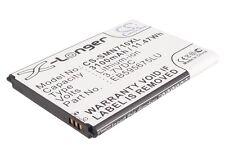 3.7V battery for Samsung SCH-R950, SHV-E250K, Galaxy Note II LTE, SHV-E250S, GT-