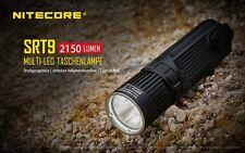 NITECORE SRT9 2150 Lumen schwarz LED Lampe Taschenlampe Höhle Geocaching