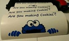 Cookie Monster Vinyl Decal For Kitchenaid Mixer