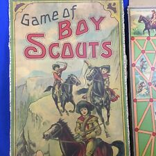 Boy Scout Vintage Toy Game Of Boy Scouts Milton Bradley Co.