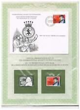 Postmasters FDC, Postfrisse en Sterling Zilveren zegel - Helvetia (18)