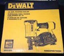 NEW DEWALT DW45RN PNEUMATIC ROOFING COIL NAILER GUN ANGLED 15 DEG 8627820