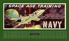 Billboard for Lionel Holder Navy Space Age Training