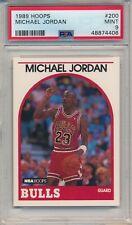 1989 HOOPS MICHAEL JORDAN #200 PSA 9 MINT HOF BULLS