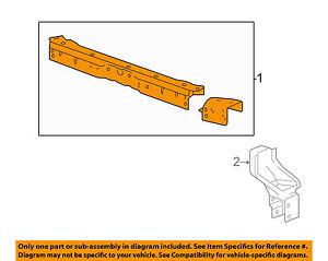 Cadillac GM OEM 13-16 XTS Radiator Core Support-Upper Tie Bar 23225180