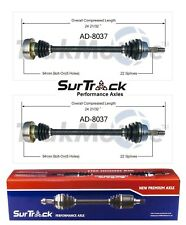 For VW Quantum AWD Syncro 1968-87 2 Rear CV Axle Shaft Assies SurTrack Set
