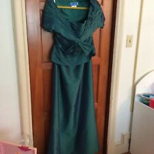 Jade by Jasmine SIZE 14 Mother of Bride or Groom Teal/Jade Color Very elegant!