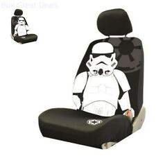 Star Wars Stormtrooper Low Back Bucket Seat Cover Car Accessory for 1 Seat