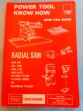 1979 Craftsman Power Tool Know How Band Saw Drill Press Wood Lathe Shaper Planer