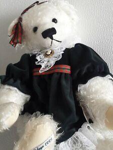 Ashton Drake Lenore DeMent 1999 Happy Holidays Teddy Bear #2957
