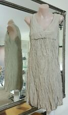 Cue Dress.Sz12.Md in Aus from German fabric.Soft with bark look.Wash wear.