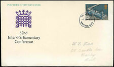 GB FDC 1975 Conferenza interparlamentare, Watford IED #C 33344