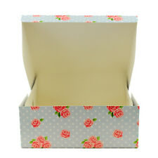"1 X 10"" Vintage CAKE BOX Board Wedding Birthday Cakes Fold Flat Baking Home"