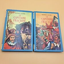 LE CAPITAINE FRACASSE Théophile Gautier, Tomes 1 et 2  1954/ 2 Old French Books