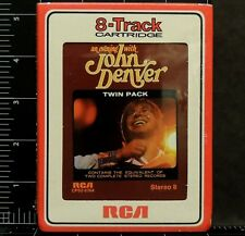 An Evening With John Denver RCA CPS2-0764 8-Track Tape 1975 New Sealed Country