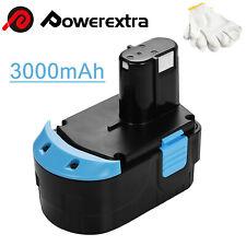 18V 3.0Ah Replacement Battery for Hitachi Eb1820L Eb1820 Eb1812S C 18Dl Eb1814Sl