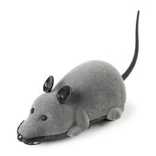 RC Funny Wireless Electronic Remote Control Mouse Rat Pet Toy for Cats Gift