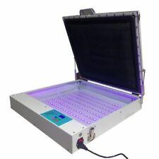 "220V Tabletop Precise 20"" x 24"" 80W Vacuum LED UV Exposure Unit"