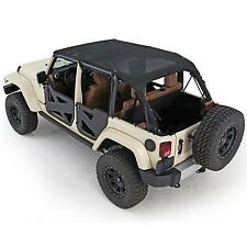 Bikini version ''Safari'' couleur: black MESH (Filet) Jeep Wrangler JK Unlimited