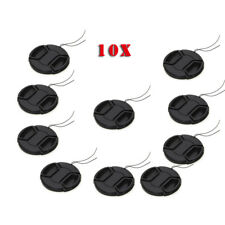 10x 46mm Snap on Front camera lens Cap Cover For Canon Nikon Sony Pentax Lens