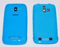 Original Nokia Lumia 610 Akkudeckel, Battery Cover, Cyan, Blau