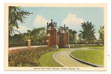 WINDSOR ONTARIO Jackson Park Gates