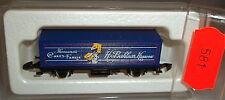 Sarotti azul, KOLL S 87715 Vagón contenedor Märklin 8615 ESCALA Z 1/220 222