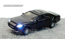 Scale HO Car With Led Front- and Rearlight - Black