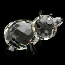 Panda Austrian Crystal Figurine Ornament Sculpture Home Decor
