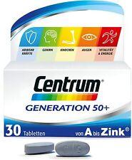 Centrum Generation 50+ ? Hochwertige Vitamine, Mineralstoffe Erwachsene ab 50