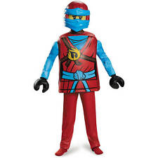 LEGO Ninjago Nya Deluxe Girls Child Role Play Costume Small 4 to 6 Years Old New