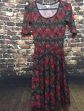 LuLaRoe Aztec Print Nicole Dress  XXS NWOT
