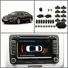 Passat CC cromo parrilla VW ayuda para aparcar Frontal & Parte trasera con indicador de ops original PDC
