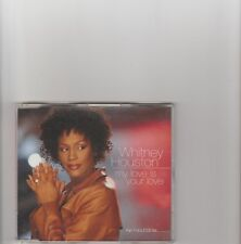 Whitney Houston- My love is Your Love UK part 1 cd single
