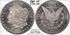 $1 1878 CC Morgan Genuine In Plain White Slab (Cleaned ) PCGS Code 92