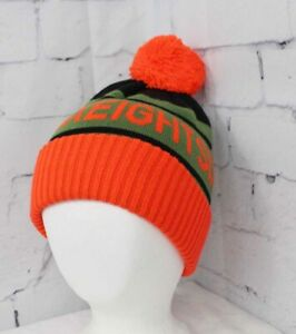 New 2019 686 Boys Youth Vintage Pom Beanie Camp Green Youth