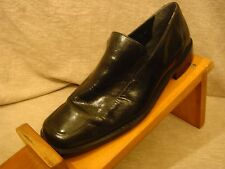 Stacy Adams Mens Leather  Black Slip on Loafer Dress Shoes Size 10.5M S5-44