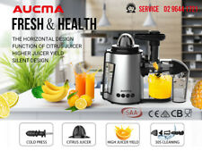 Cold Press Juice Slow Juicer Electric Citrus Squeezer Fruit Vegetable Machine