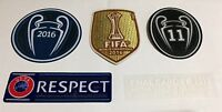 Real Madrid Final Cardiff 2017 match details patch badge patch set Jersey Shirt