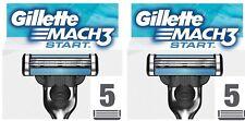 Gillette Mach 3 Start Rasierklingen 2x 5er Pack 10 Stück